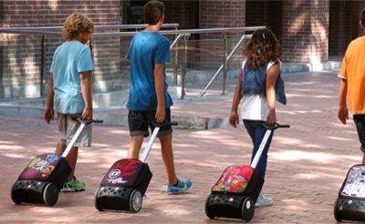 Trolley escolar ergonómico Nikidom Roller